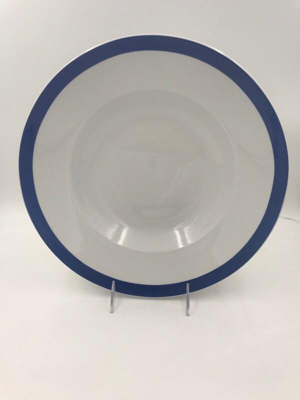 """Bistro Blue Bowl 12""""- Dozen"""