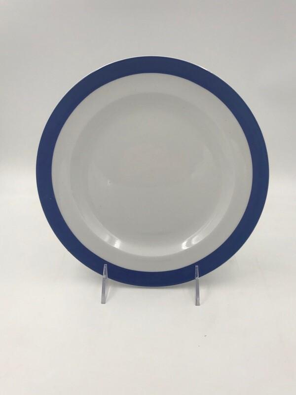 """Bistro Blue Plate 9""""- 2 Dozen/ case"""
