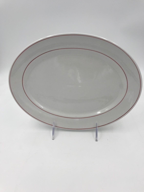 "Lexington Oval Dish 10 1/2""- 2 Dozen/ case"