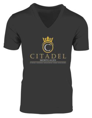 Citadel Mortgages - V-Neck Mens Shirt