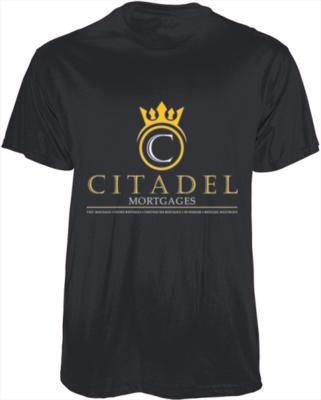 Citadel Mortgages - Men& Women Fittied T-shirt`
