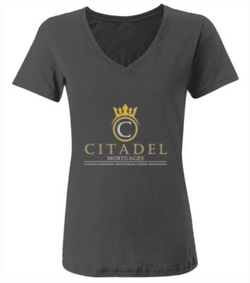 Citadel Mortgages - V-Necks Women Shirts