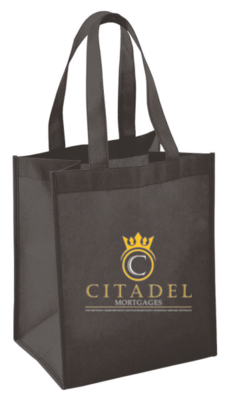 Citadel Mortgages Shopping Tote Bags