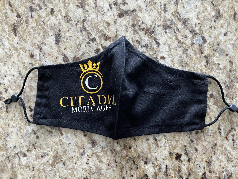 Citadel Mortgages Face Mask