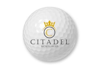 Citadel Mortgages Golf Balls Set of 25