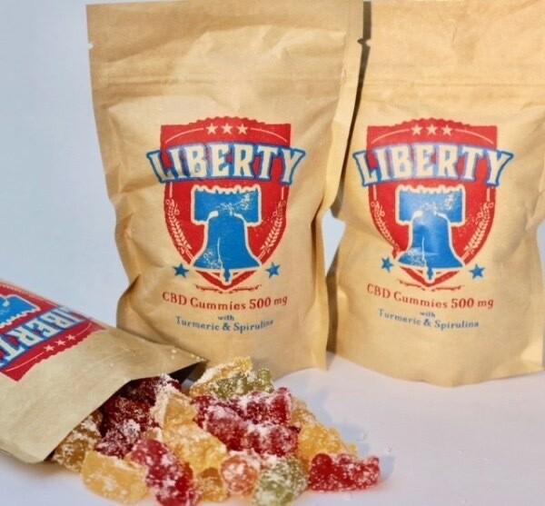 Liberty Gummies 500MG