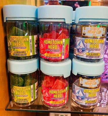 Hometown Hero 25mg Delta8 Gummies