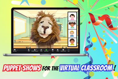"School Zoom-Call ""Puppet Party"""