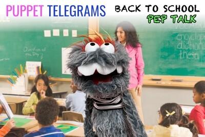"""Back-To-School"" Pep Talk!"