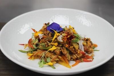 Kohinoor Chicken Tandoori Salad  Chicken leg boneless | pineapple | onion | capsicum | Lemon | fresh coriander