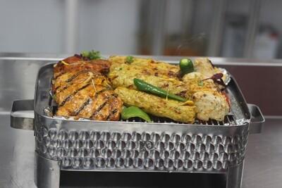 Chicken Mix Grill  Chicken tikka | Kohinoor Chicken Boti | chicken Chatkara | chicken makhmali.