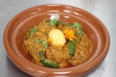 Gawar chicken karahi