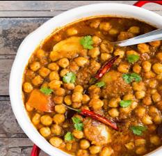 Gol Matol   Aloo Cholay  Chickpea   Potato   cumin seed   coriander   chili oil