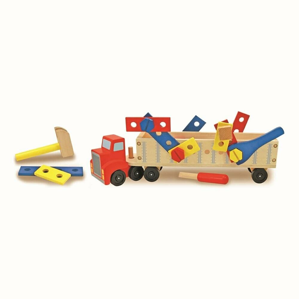 ערכת בנייה משאית מבית מליסה ודאג