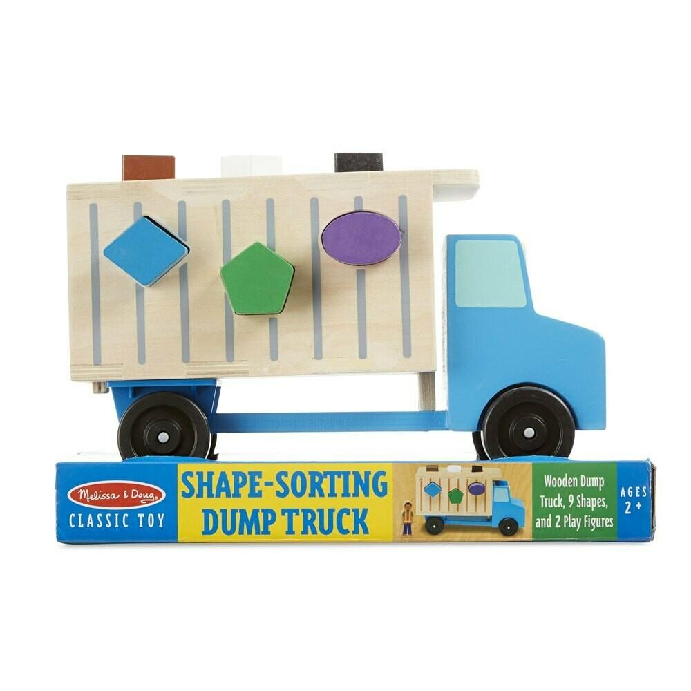 משאית אשפה התאמת צורות מבית מליסה ודאג
