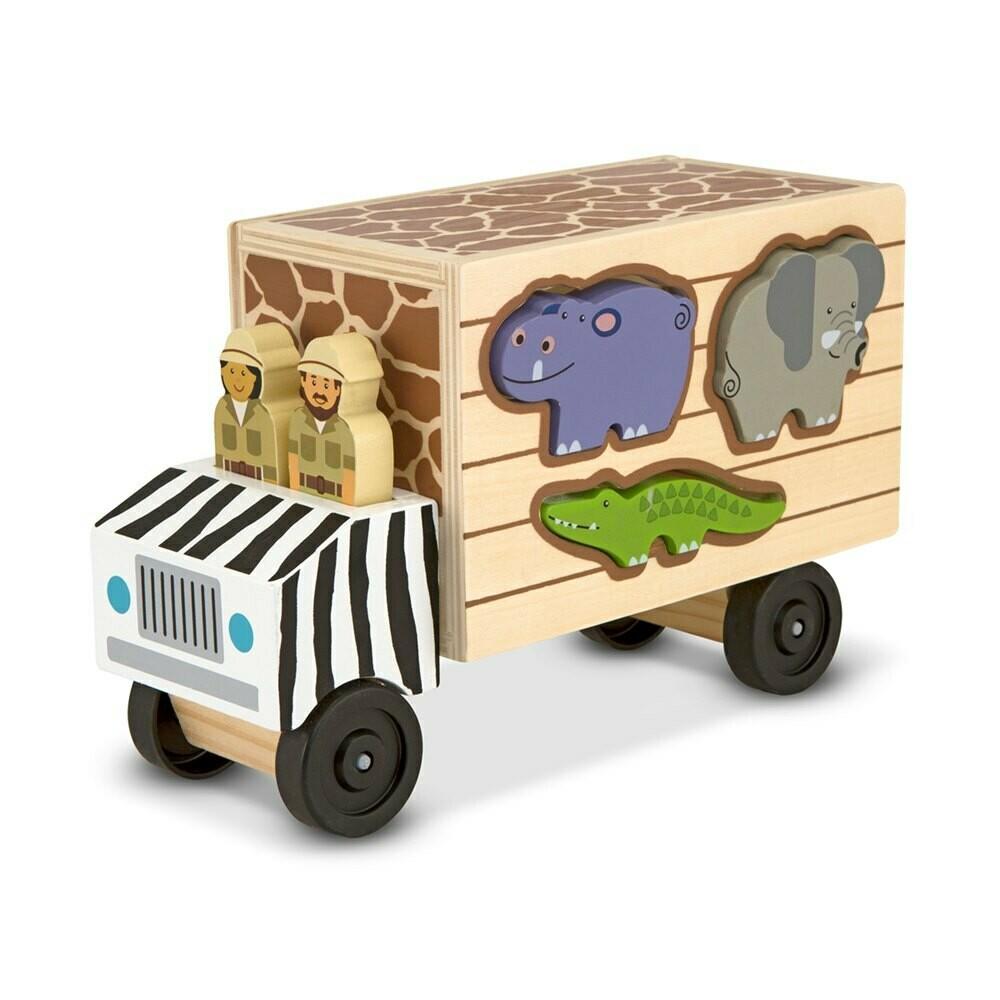 משאית התאמת צורות - חיות מבית מליסה ודאג