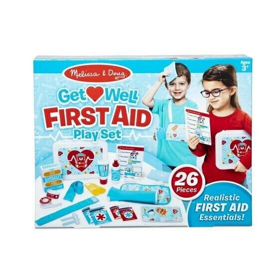 ערכת משחק עזרה ראשונה לילדים מבית מליסה ודאג