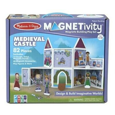 משחק מגנטים לילדים טירה מימי הביניים מליסה ודאג