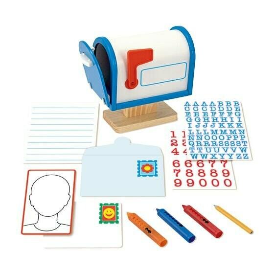 משחק דמיון לילדים תיבת הדואר שלי מליסה ודאג