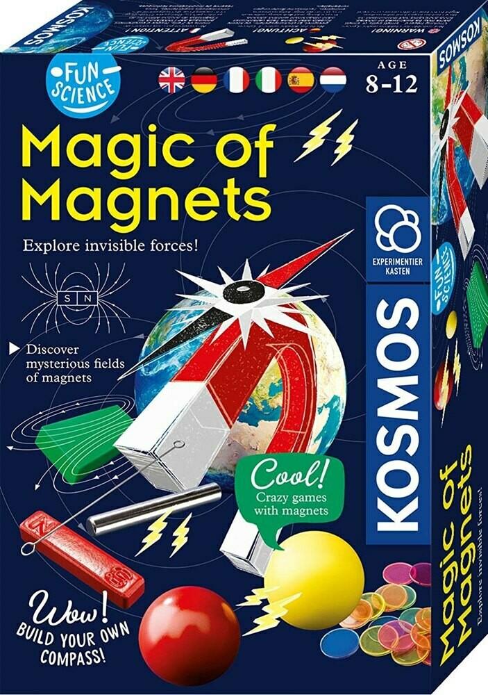 ערכת מדע לילדים קסם המגנטים מבית קוסמוס