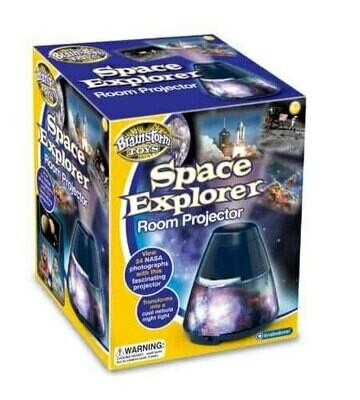 מנורת מקרן בנושא גלקסיות וחלל מבית ברינסטורם אנגליה