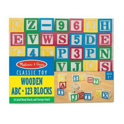 קוביות בנייה ABC ומספרים מבית מליסה ודאג