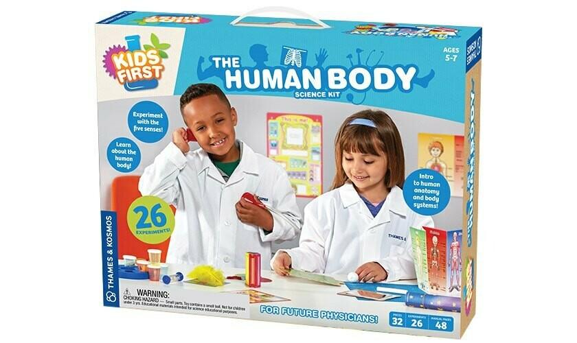 ערכת מדע לילדים גוף האדם - Thames & Kosmos