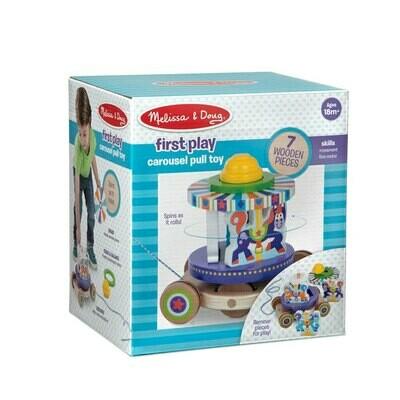 צעצוע משיכה קרוסלה מבית מליסה ודאג