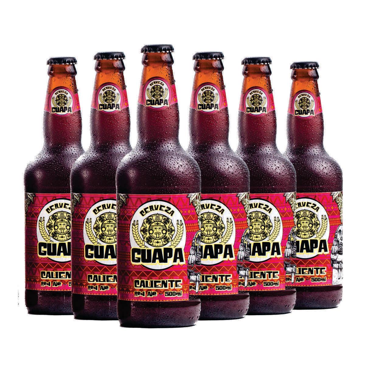 Caliente Red Ale - 6UN de 500ml