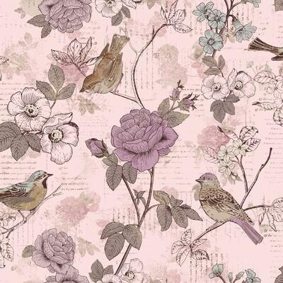 AVIARY-SS AY Words Bird Lavender