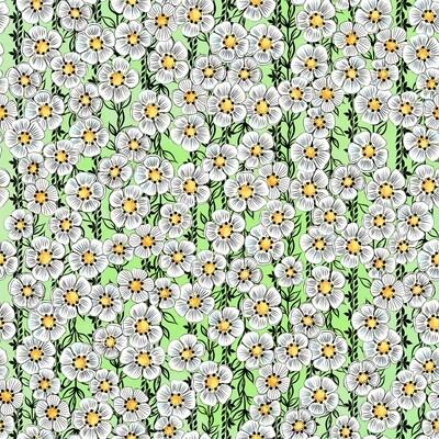 Daisy Light Green