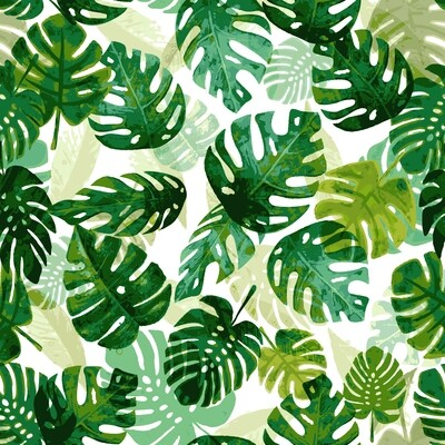 Layering Tropical Leaves