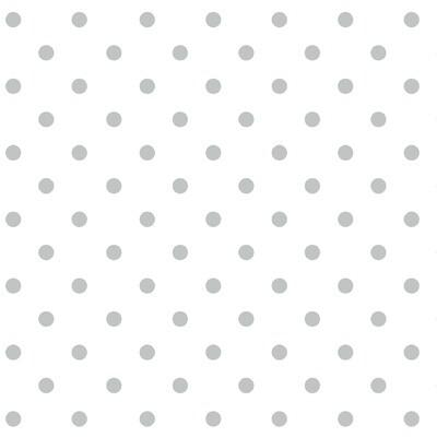 Silver Metallic Dot