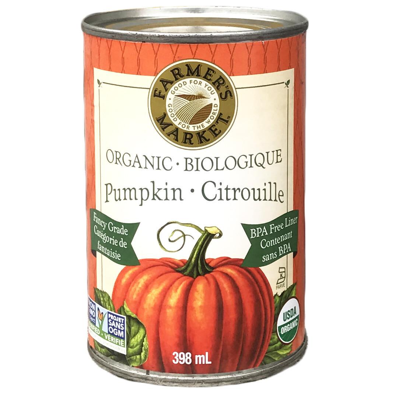 FARMERS MKT Pumpkin Puree 398ml