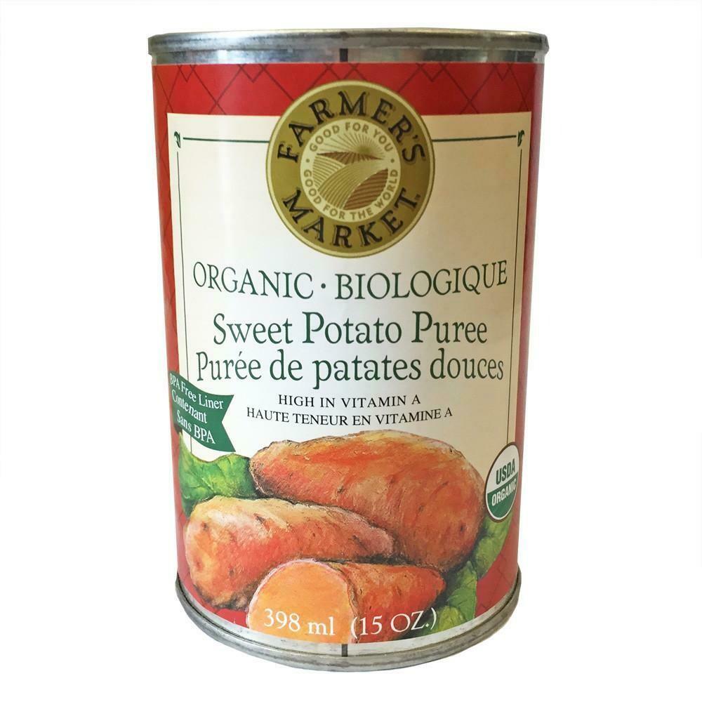 FARMERS MARKET Sweet Potato 398ml