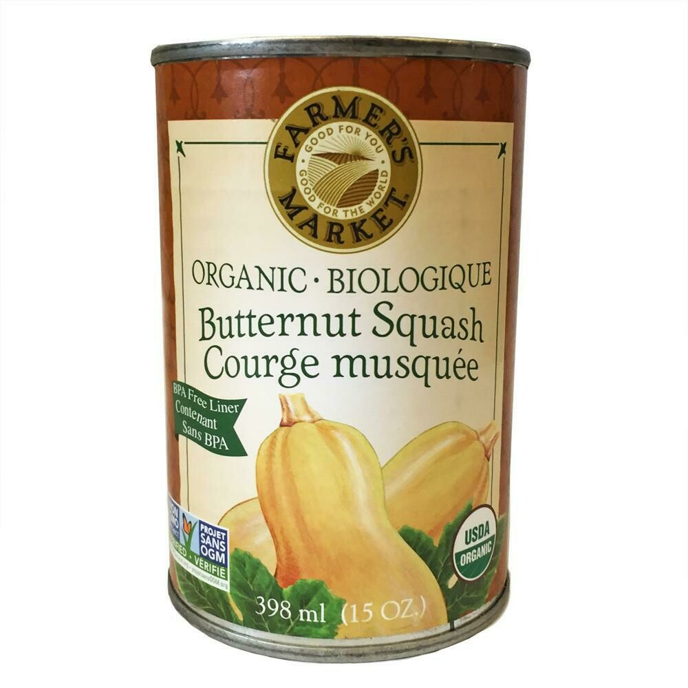 FARMERS MARKET Butternut Puree 398ml