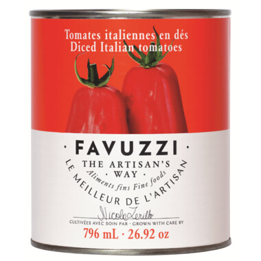 FAVUZZI Diced Tomatoes 796ml