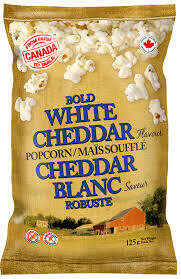 FROM FARM TO TABLE White Cheddar Popcorn 125g
