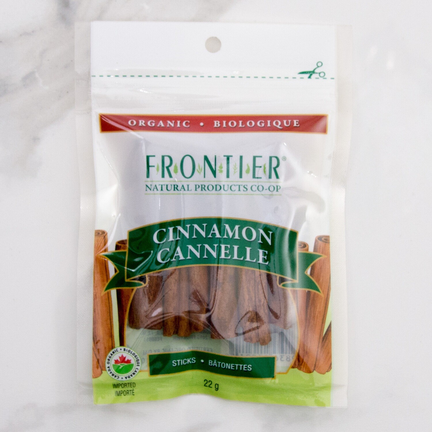 FRONTIER Cinnamon Sticks 22g