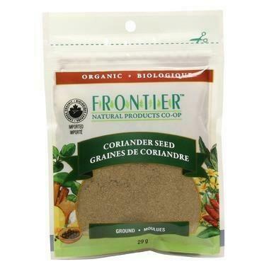 FRONTIER Grd Coriander Seed 29g