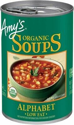 AMYS Alphabet Soup 398ml