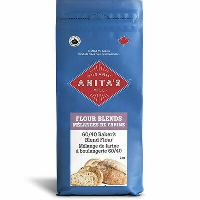 ANITAS 60/40 Bakers Blend Flour