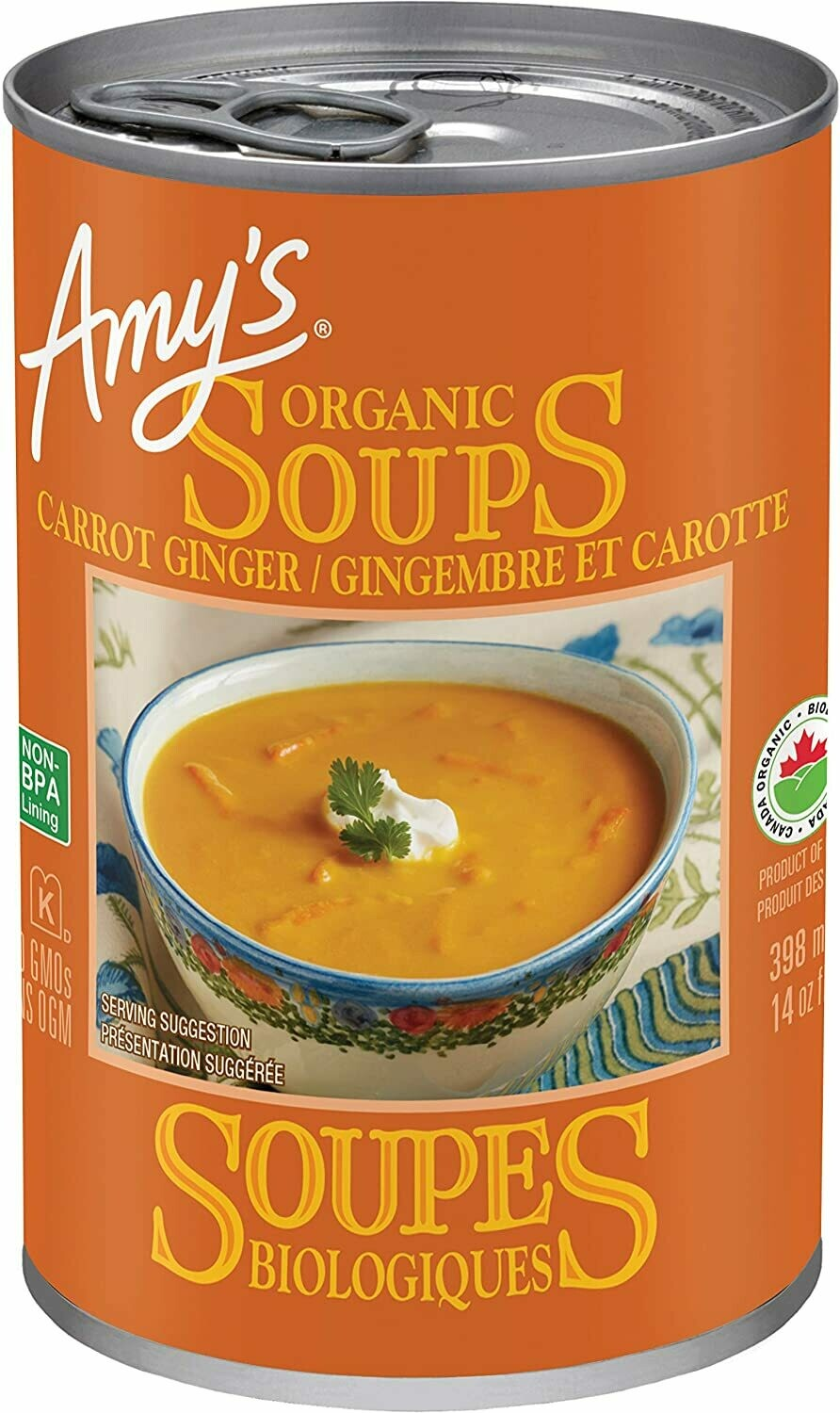 AMYS Carrot Ginger Soup