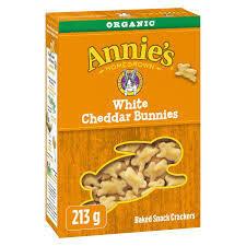 ANNIES White Cheddar Bunnies 213g