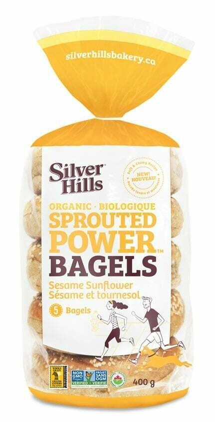 SILVER HILLS Bagels - Sesame Sunflower