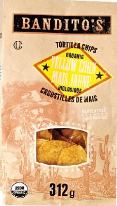 BANDITOS Tortilla Chips Yellow Corn 300g