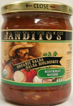 BANDITOS Salsa Medium 454g