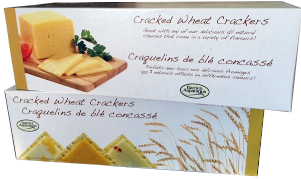 BARRIES Cracked Wheat Crackers 300g