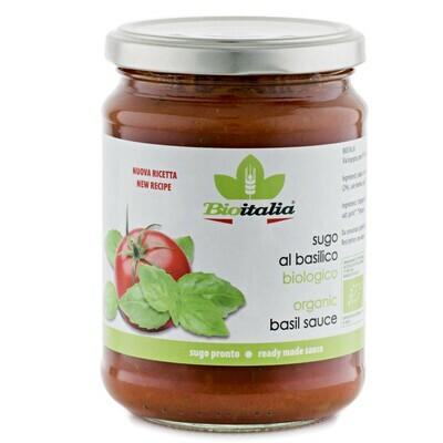 BIOITALIA Basil Sauce 358ml