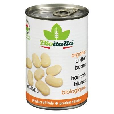 BIOITALIA Butter Beans 398ml
